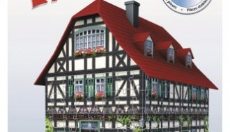 3D Puzzel Middeleeuws huis