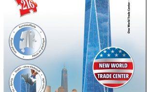 3D puzzel New world trade center