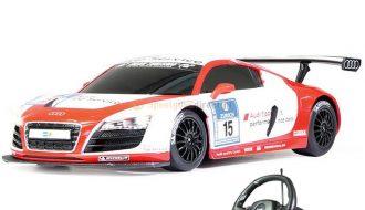 Audi R8 LMS RC Auto Rood Wit 1:18
