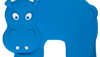 Baby Banana Brush Anti-slip matje voor in de kinderstoel - Hippo Grippo