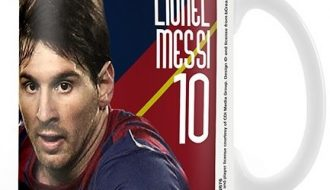 Barcelona mok Messi
