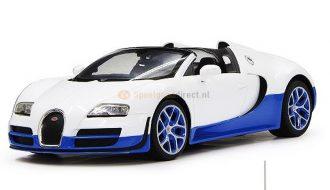 Bugatti Grand Sport Cabriolet RC Wit 1:14