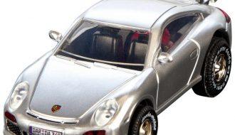 Darda Porsche GT3 zilver