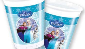 Disney Frozen schaatsen bekertjes - 8 stuks