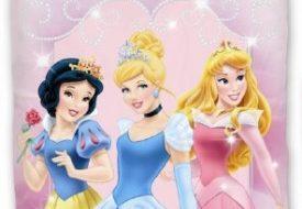Disney prinsessen sparkling dekbed