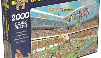 Jan van Haasteren puzzel - Voetbal waanzin (2000)