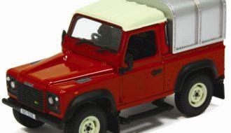 Land Rover Defender 90 met laadkap