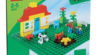 Lego Duplo groene bouwplaat - 2304
