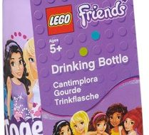 Lego Friends drinkfles paars