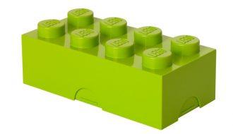 Lego broodtrommel lime groen