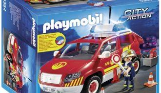 Playmobil Brandweercommandant dienstwagen - 5364