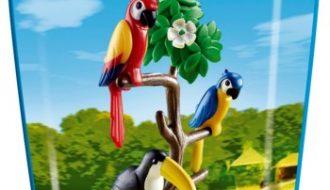 Playmobil Papegaaien met toekan - 6653