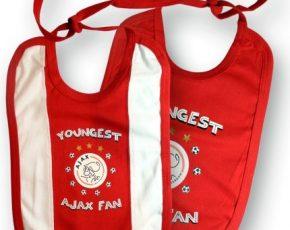 Slabbetjes Ajax youngest fan 2-pack