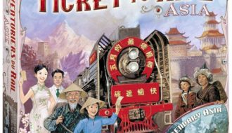 Ticket to ride Asia / Legendary Asia