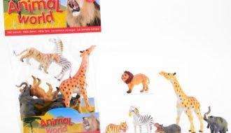 Wilde dieren - 6 stuks