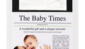 Baby Art - Nieuwsartikel Lijst - Wit & zwart