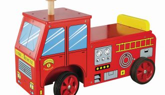 Loopauto brandweer New Classic Toys 43x60x22 cm