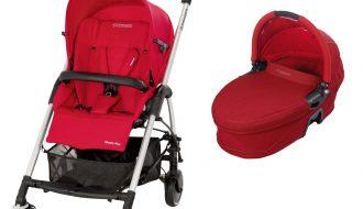 Maxi-Cosi Streety - Kinderwagen + - reiswieg   Intense Red