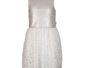 86bd7a0393c184 Rumbl! ´party´ jurk Meisje Beige   Off-white