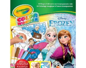Crayola Color Wonder Disney Frozen kleurset