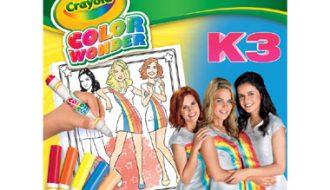 Crayola Color Wonder K3 kleurboek met stiften