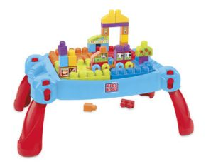 Mega Bloks Tafel : Fisher price mega bloks first builders speel en leertafel