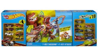 Hot Wheels T-rex Takedown speelset