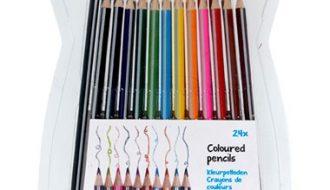 Kleurpotloden - 24 stuks