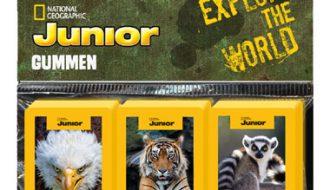 National Geographic Junior gummen - 3 stuks