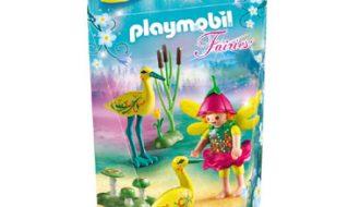 PLAYMOBIL Fairies elfje met ooievaars 9138