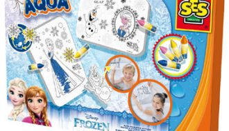 SES Aqua Disney Frozen badkleurplaten