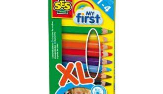 SES My First kleurpotloden - 8 stuks