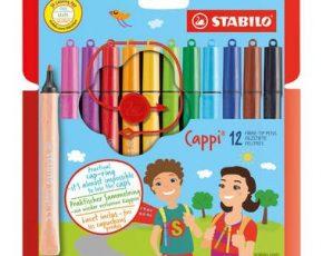 STABILO Cappi viltstiften - 12 stuks