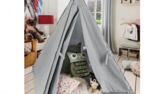 Beds & More Speeltent Tipi Grijs / Zand