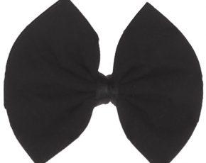 Vlinderstrik zwart voor baby's-